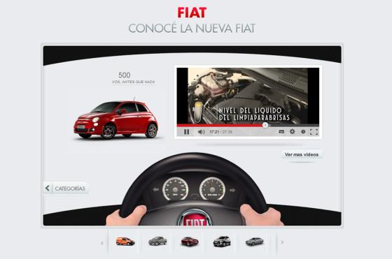 Argentina: Fiat lanzó su nuevo canal oficial en YouTube