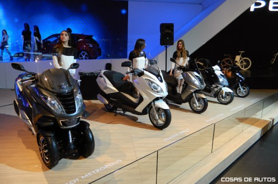 Las motos de Peugeot