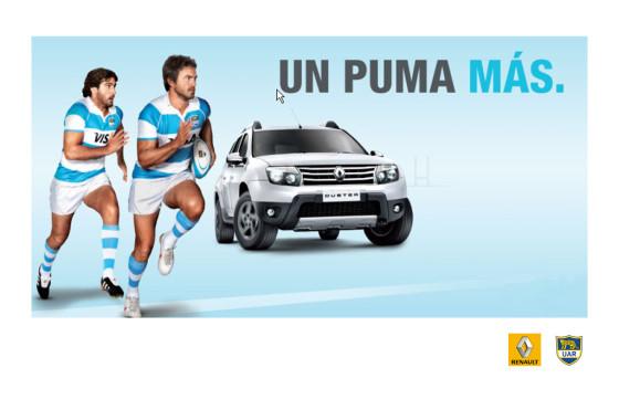 Autos y rugby: Renault Argentina, nuevamente sponsor de Los Pumas