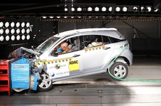 Chevrolet Agile testeado por LatinNCAP