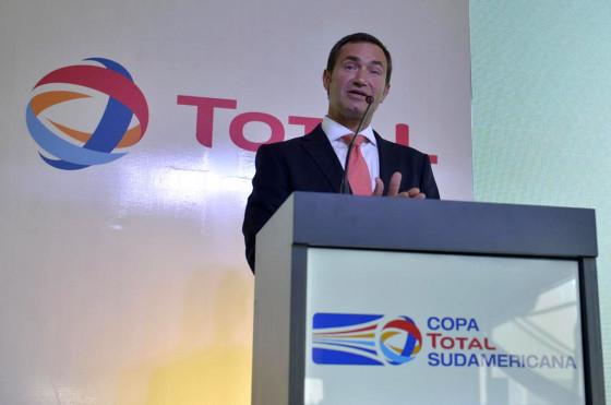 Pierre-Yves Sachet, director de Total Marketing & Services en Americas.