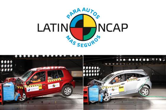 LatinNCAP: la cuarta tanda de test mostró duros resultados para Clio Mío y Agile