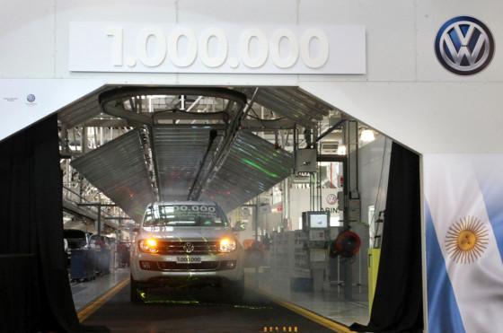 VW Argentina produjo un millón de vehículos en Pacheco