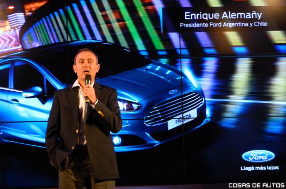 Enrique Alemañy, presidente de Ford Argentina.