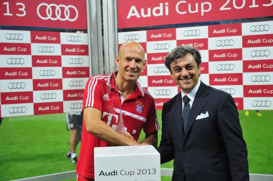 Bayern Munich, campeón de la Audi Cup 2013