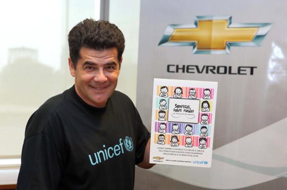 Chevrolet y UNICEF presentan 'Sonrisas sobre Ruedas, un porvenir en marcha'