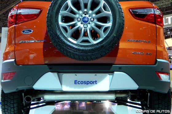 Argentina: Ford lanzó la EcoSport 4WD a $185.940;