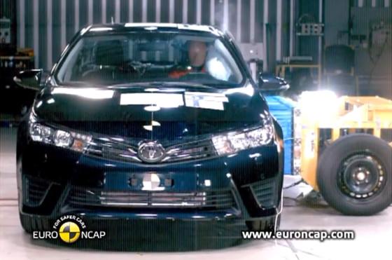 El Nuevo Toyota Corolla alcanzó las cinco estrellas en los test de Euro NCAP