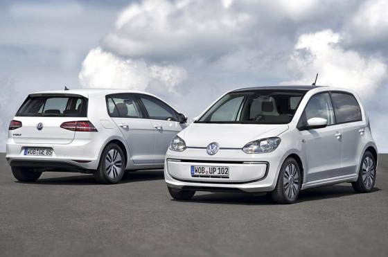 VW e-Golf y VW Up!