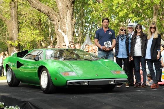 El Lamborghini Countach LP 400 fue el favorito de la prensa en Autoclásica 2013