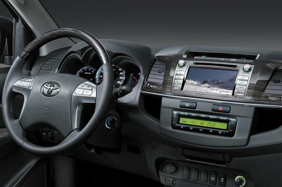 Toyota renovó el interior de la Hilux y SW4 que ahoran tienen GPS, DVD y TV digital