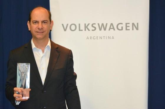 Argentina: Volkswagen obtuvo el premio como Gran Marca Internacional