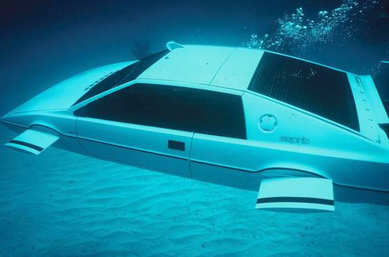"""El Lotus Esprit de James Bond en """"The Spy Who Loved Me"""""""