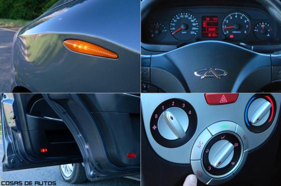 Test del Chery Fulwin - Foto: Cosas de Autos