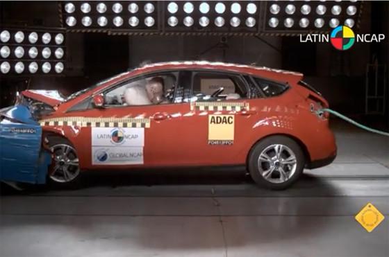 Impacto del Ford Focus III por Latin NCAP