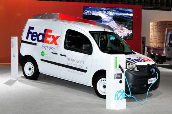 FedEx comienza a usar vehículos eléctricos Renault en Brasil