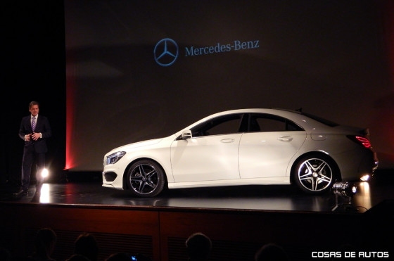 Mercedes-Benz CLA.