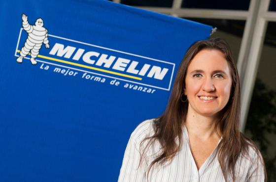 Eliana Banchik, gerente de marketing de Michelin Argentina