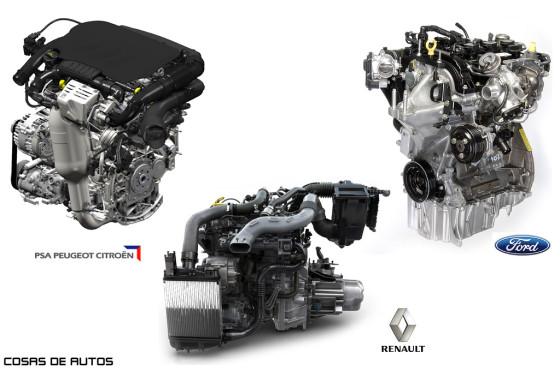 Motores de tres cilindros