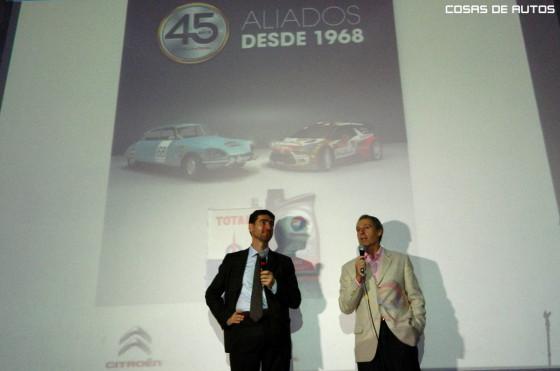 Citroën y Total festejaron su alianza en Boca