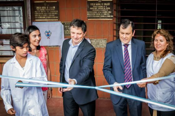 Ford remodeló y reinauguró en Santiago del Estero la vigésima escuela rural