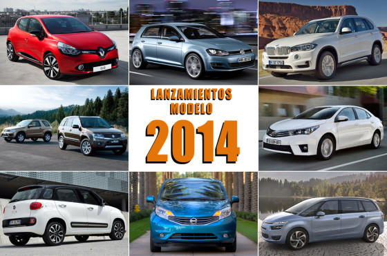 Lanzamientos de autos en 2014