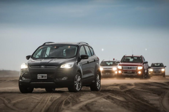 Verano 2014: Base Off Road de Ford en Pinamar
