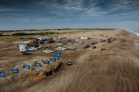 Verano 2014: Base Off Road de Ford en Pinamar