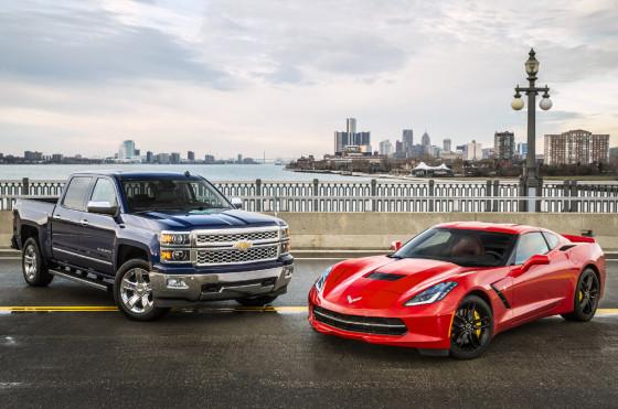 Chevrolet Corvette y Silverado ganaron en el Salón de Detroit