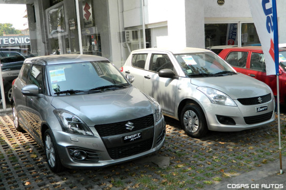 Suzuki Swift Sport y Suzuki Swift