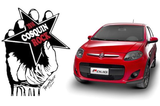 Nuevo Fiat Palio, auto oficial de Cosquín Rock 2014