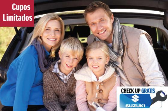 Argentina: primer chequeo gratuito de Suzuki con actividades para toda la familia
