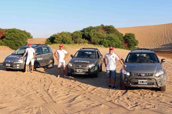 Verano 2014: Travesía por los médanos de Pinamar
