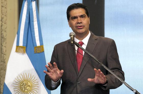 Jorge Capitanich, jefe de Gabinete de ministros de la Nación