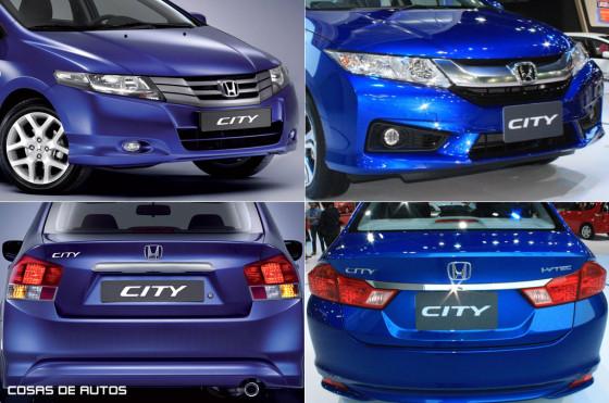 El restyling del Honda City se lanzó en Tailandia