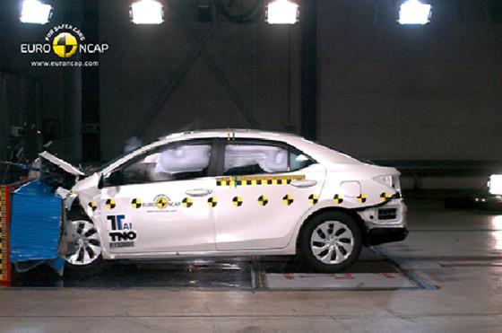 Nuevo Corolla en los test de EuroNCAP
