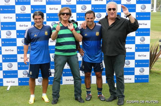 Ortega, Veira, Latorre y Basile, las celebridades que le pusieron color al evento de VW.