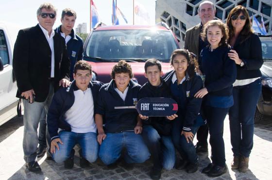 Fiat Auto Argentina donó 16 0km a escuelas técnicas de Córdoba