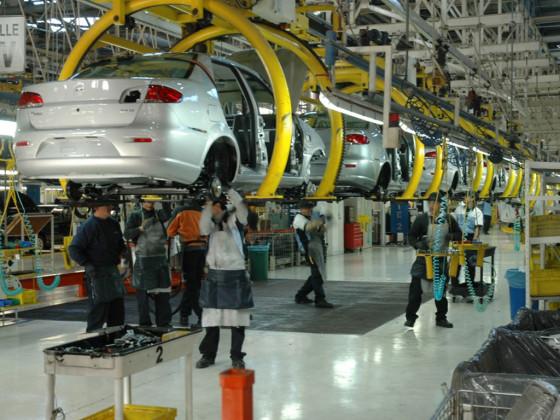 Producción del Fiat Siena en la planta de Ferreyra, Córdoba