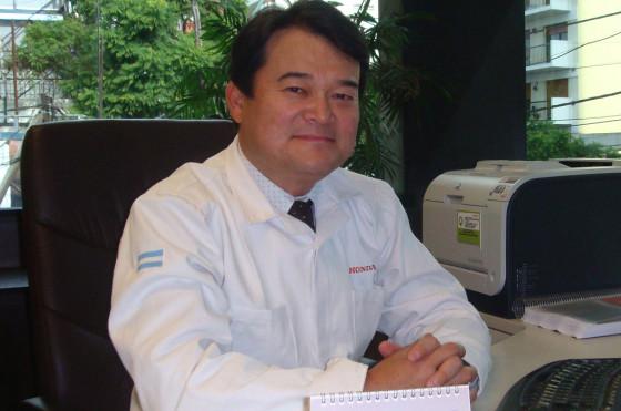 Sr. Hideki Kamiyama, presidente de Honda Argentina