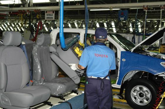Planta Toyota en Zárate