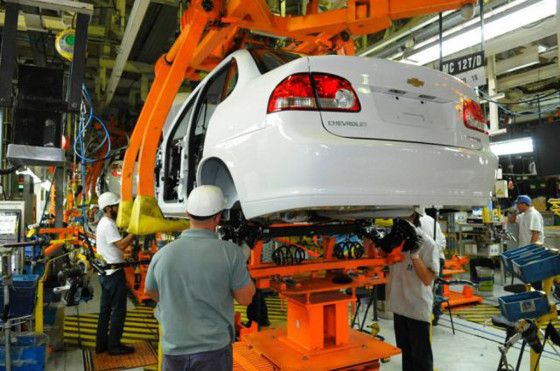 Planta Rosario de GM - Chevrolet Classic