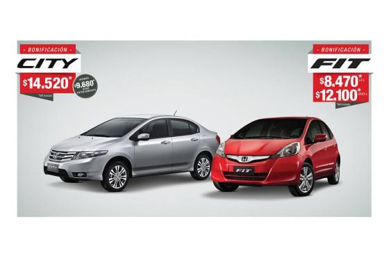 Honda bonificaciones