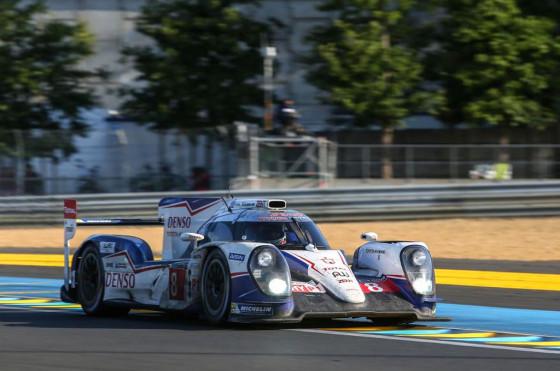 El equipo Toyota fue tercero
