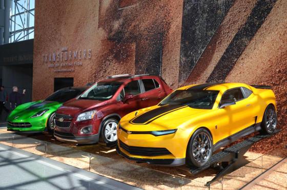 Se estrenó una nueva Transformers con el debut de la Chevrolet Tracker