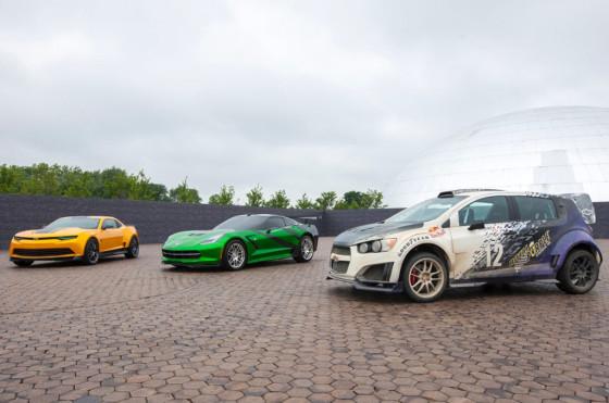 Se estrenó una nueva Transformers con el debut de la Chevrolet Tracker y rediseño para el Camaro