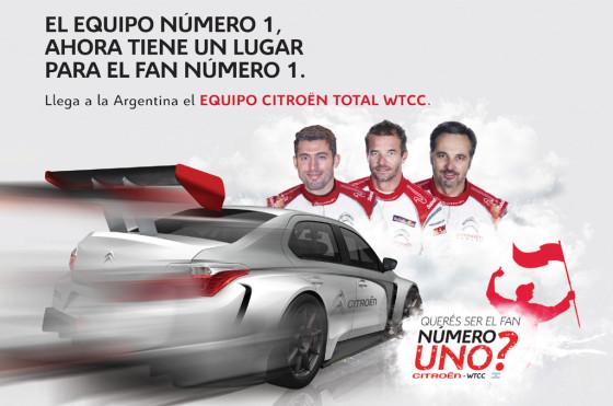 Concurso: Citroën Argentina premia al fan #1 de la marca en el WTCC