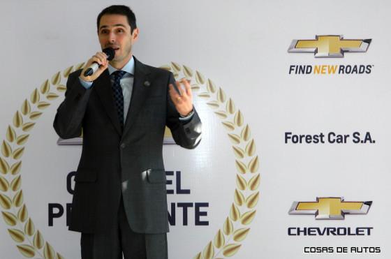 Adrián Díaz, titular de Forest Car, concesionario Chevrolet.