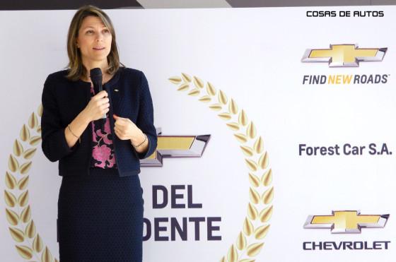 Isela Costantini, presidenta de General Motors Argentina.