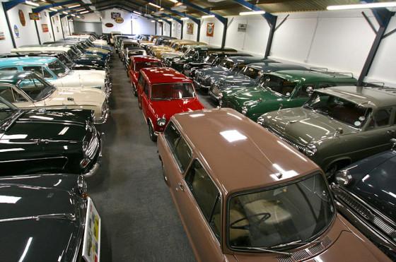 La colección de autos de Hull